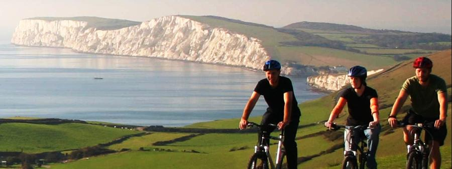 Cycling. The Caledon Guest House, Cowes, Isle of Wight